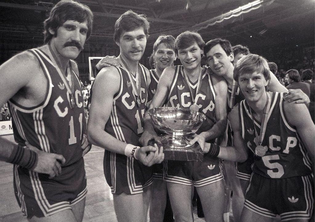 Победная сборная СССР